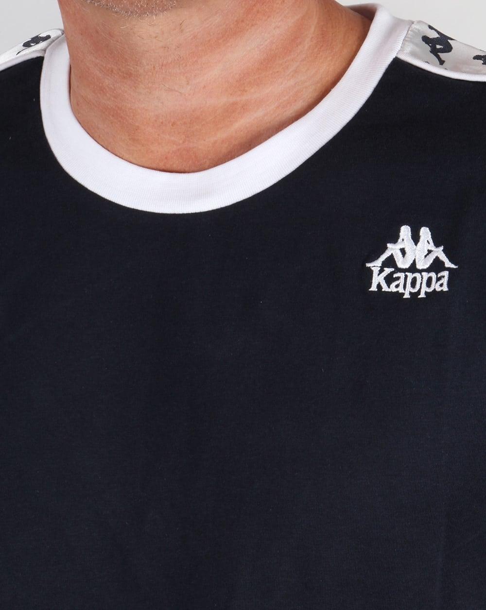 Robe Di Kappa Logo Ringer Taping T Shirt Navyteeretromens Circuit Board Tshirts Men39s Tshirt Navy