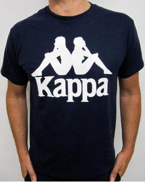 Robe Di Kappa Logo T-shirt Navy