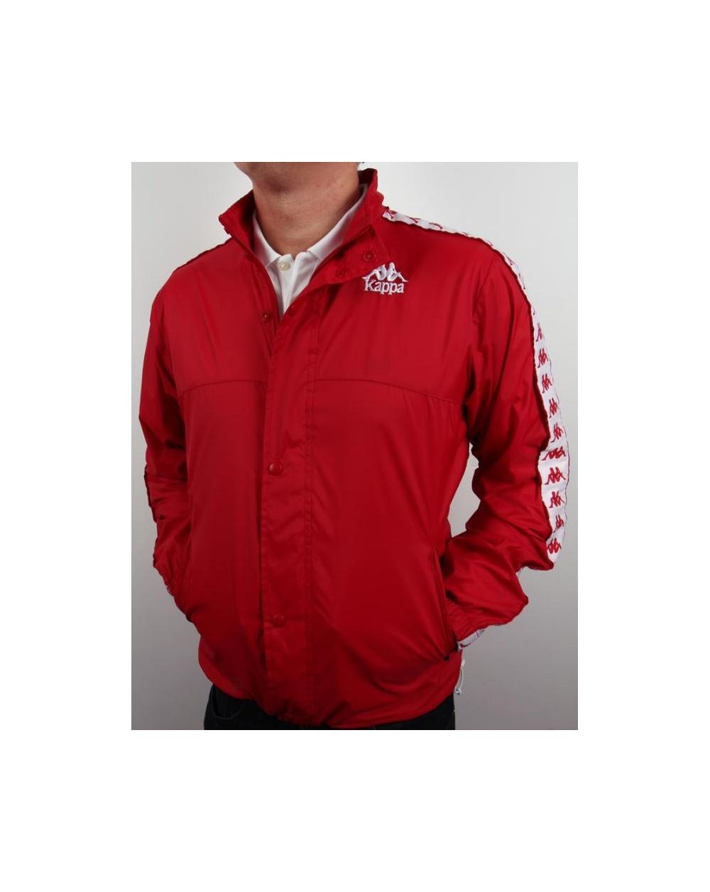 Robe Di Kappa Og Cagoule 84 Red - kappa cagoule jacket