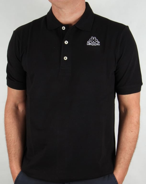 Robe di Kappa Omini Polo Shirt Black