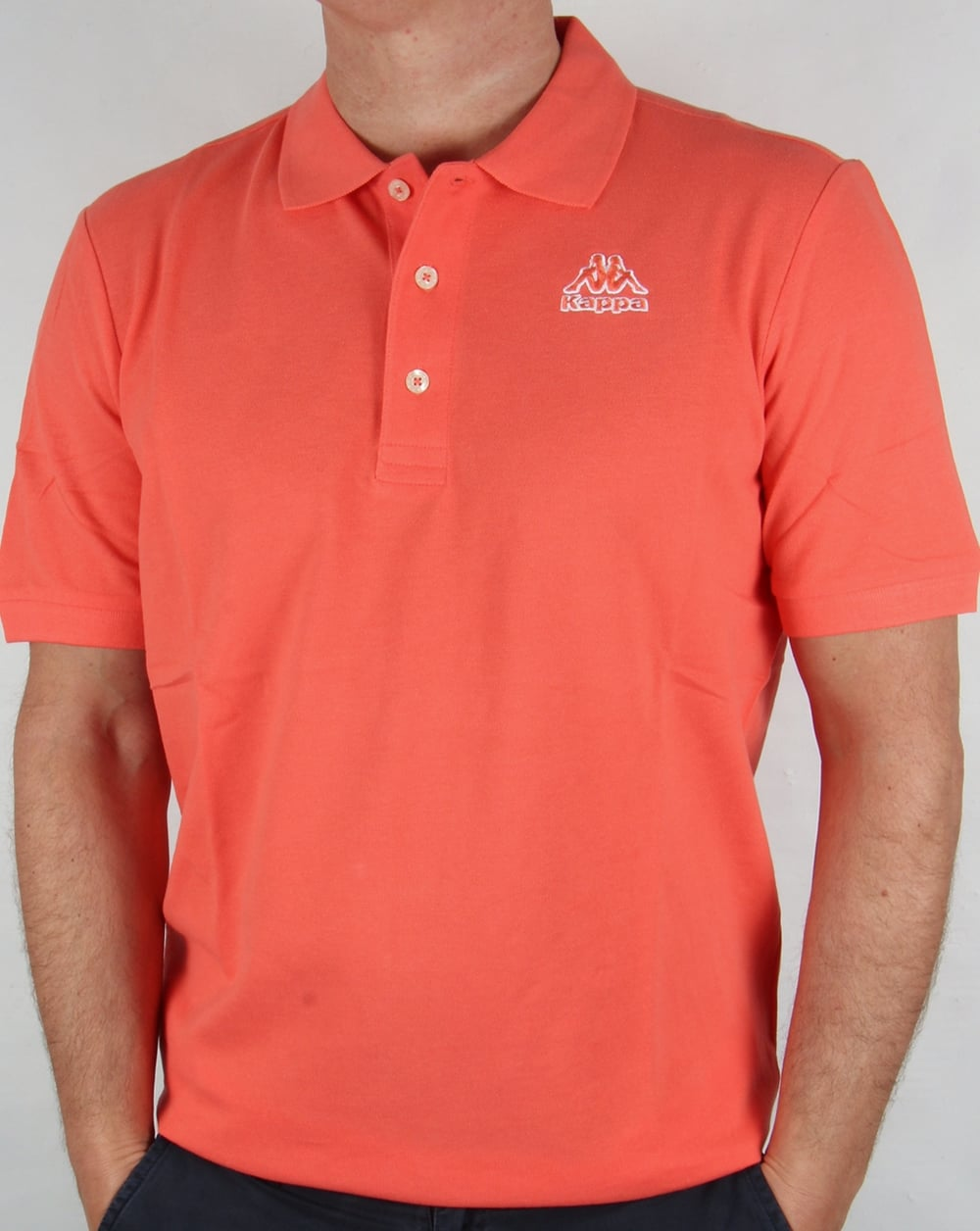 454e86796b Kappa Robe di Kappa Omini Polo Shirt Coral
