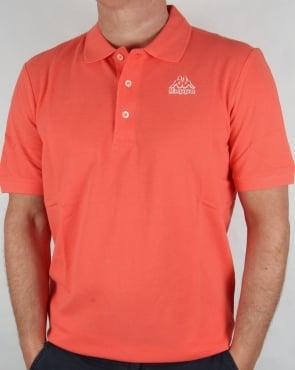 Robe di Kappa Omini Polo Shirt Coral