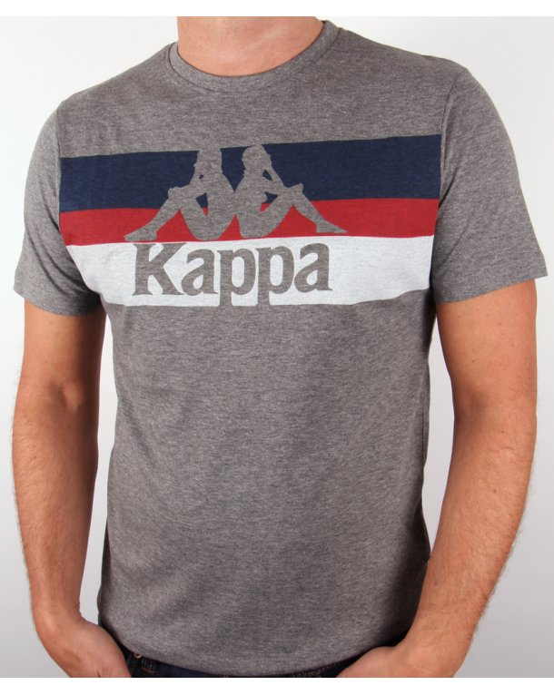 Robe Di Kappa Skippa Logo T-shirt Grey