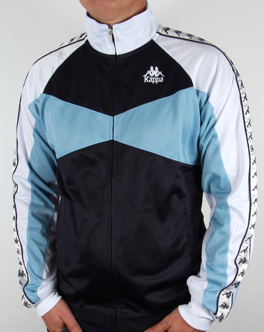 Di Top Robe Kappa Trafford tracksuit mens jacket Track Navyskywhite zOnU7dnR
