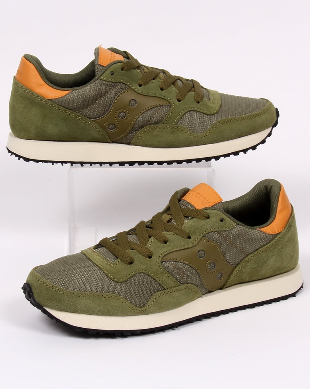 Saucony Dxn Trainers Olive Green, Men's