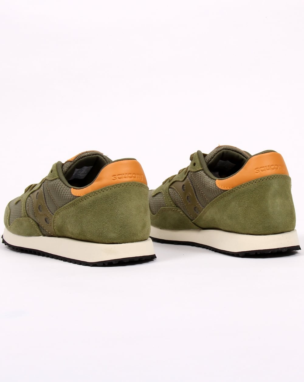 Saucony Originals DXN Trainer Mens Olive F126342EO Shoes