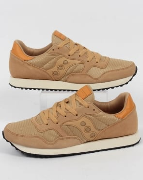 Saucony DXN Trainers Tan