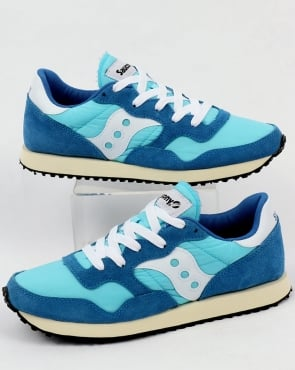 Saucony DXN Vintage Trainers Blue/White