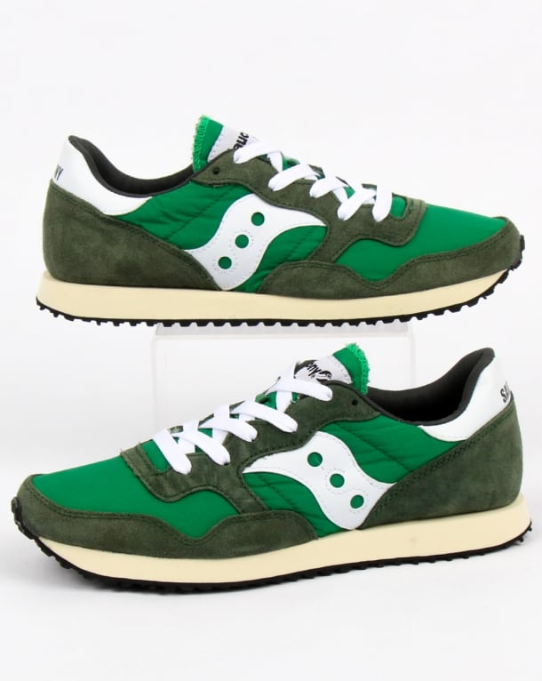 Saucony DXN Vintage Trainers Green/White