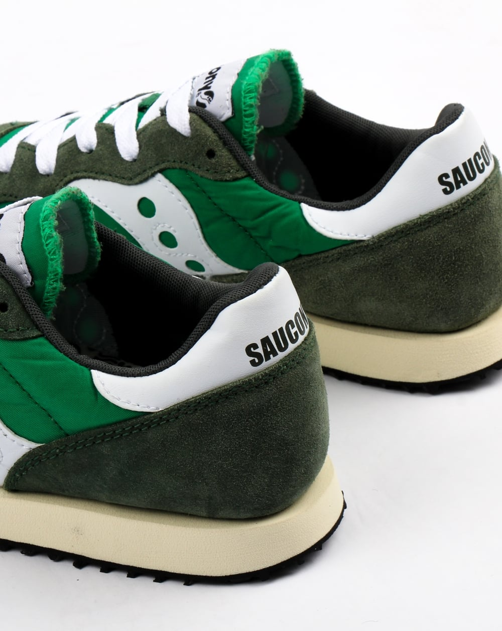 Saucony Dxn Vintage Trainers Green Whiteshoessneakers