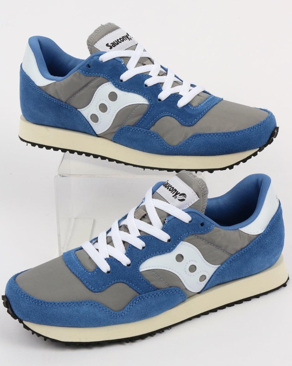 ded998d13794 Saucony Saucony DXN Vintage Trainers Grey Blue