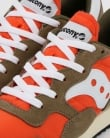 Saucony Dxn Vintage Trainers Olive/Orange