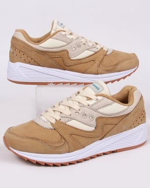 Saucony Grid 8000 Trainers Tan/light Tan