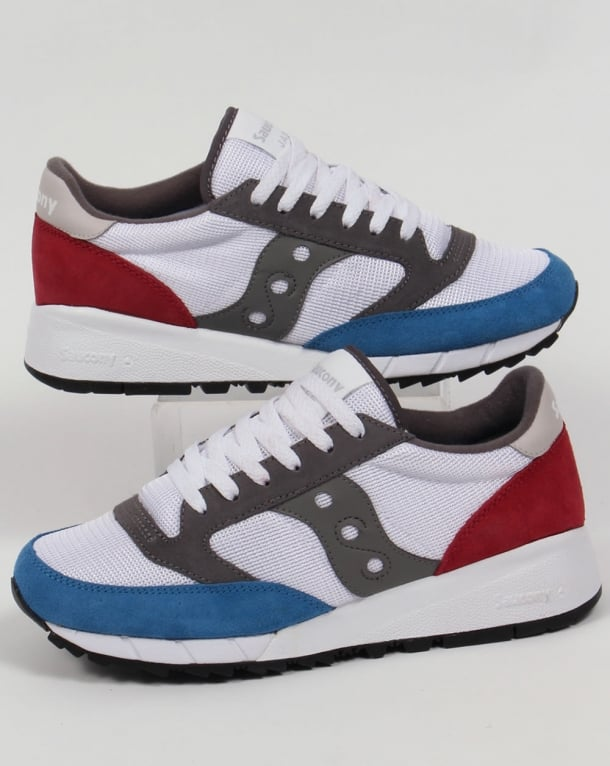 Saucony Jazz 91 Trainers White/Red/Blue