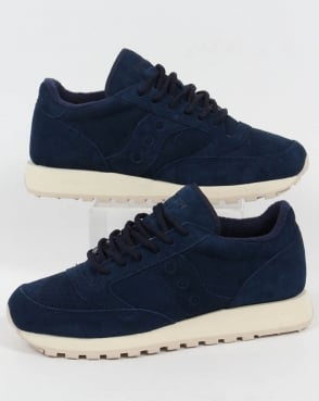 Saucony Jazz Original Suede Trainers Navy