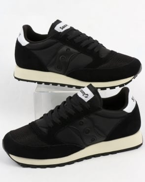 Saucony Jazz Original Vintage Trainers Black/Black