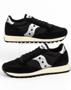 Saucony Jazz Original Vintage Trainers Black/white