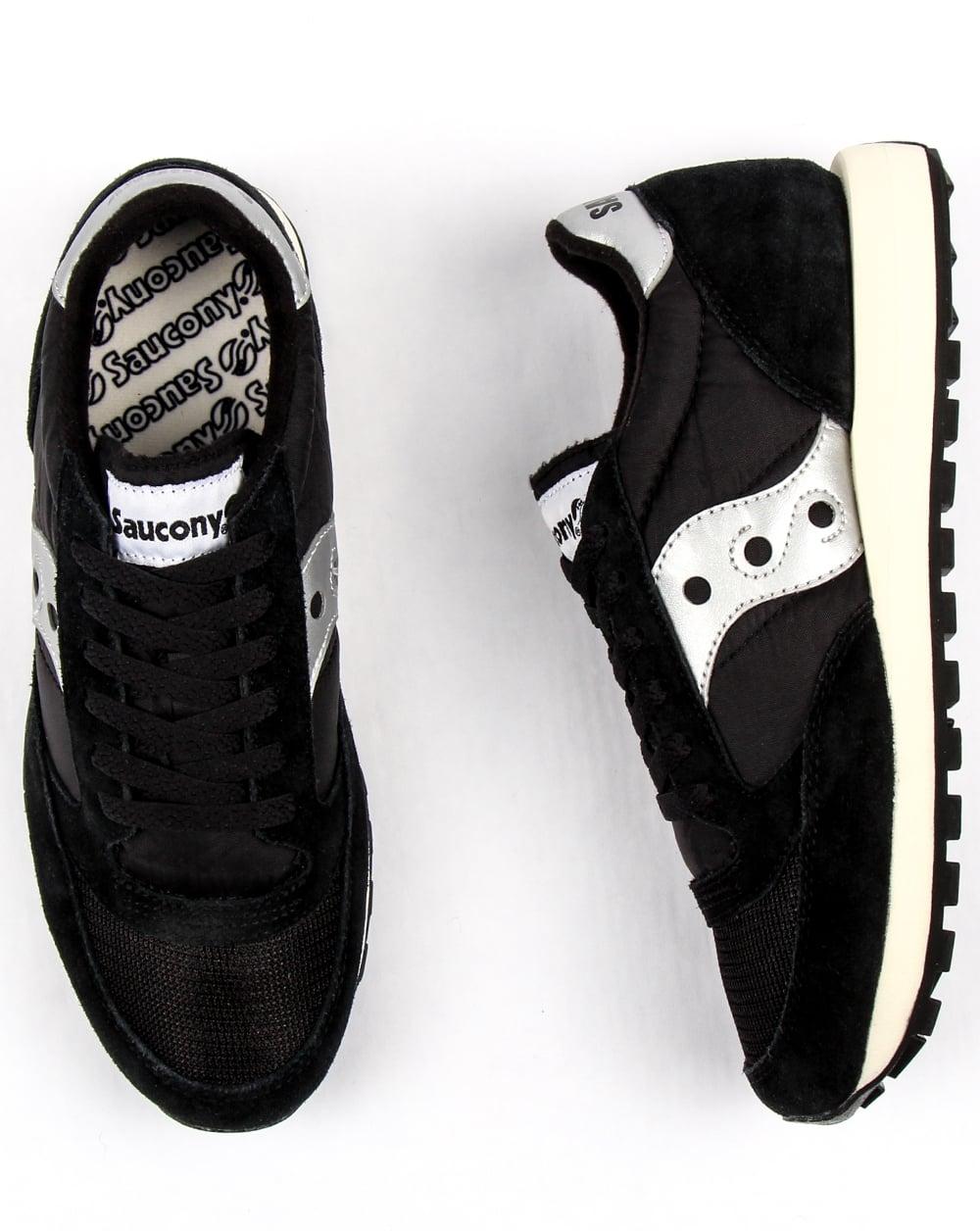 quite nice 73415 7a985 Saucony Jazz Original Vintage Trainers Black/white