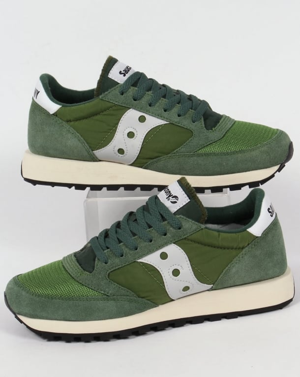 Saucony Jazz Original Vintage Trainers Green/grey