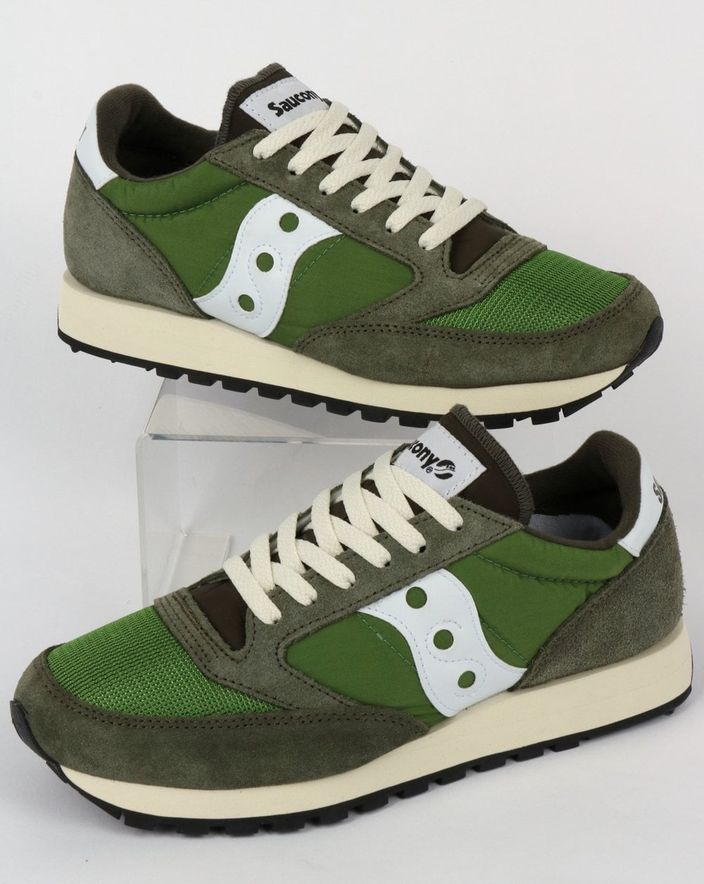 fff3d48d70 Saucony Jazz Original Vintage Trainers Green,runners,shoes,80s,mens