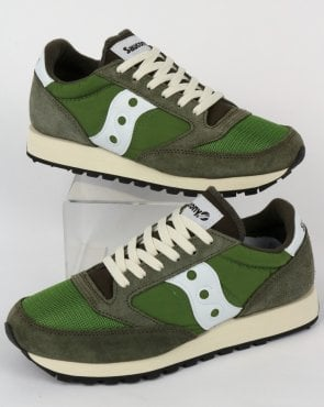 Saucony Jazz Original Vintage Trainers Green