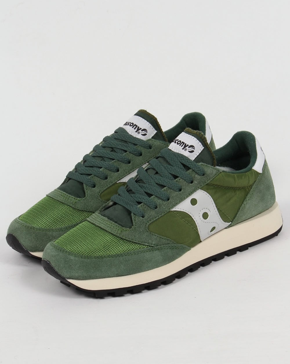 saucony green shoes