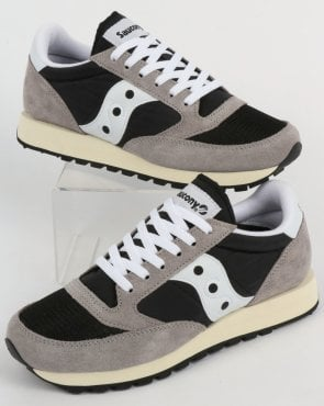 Saucony Jazz Original Vintage Trainers Grey/black/white