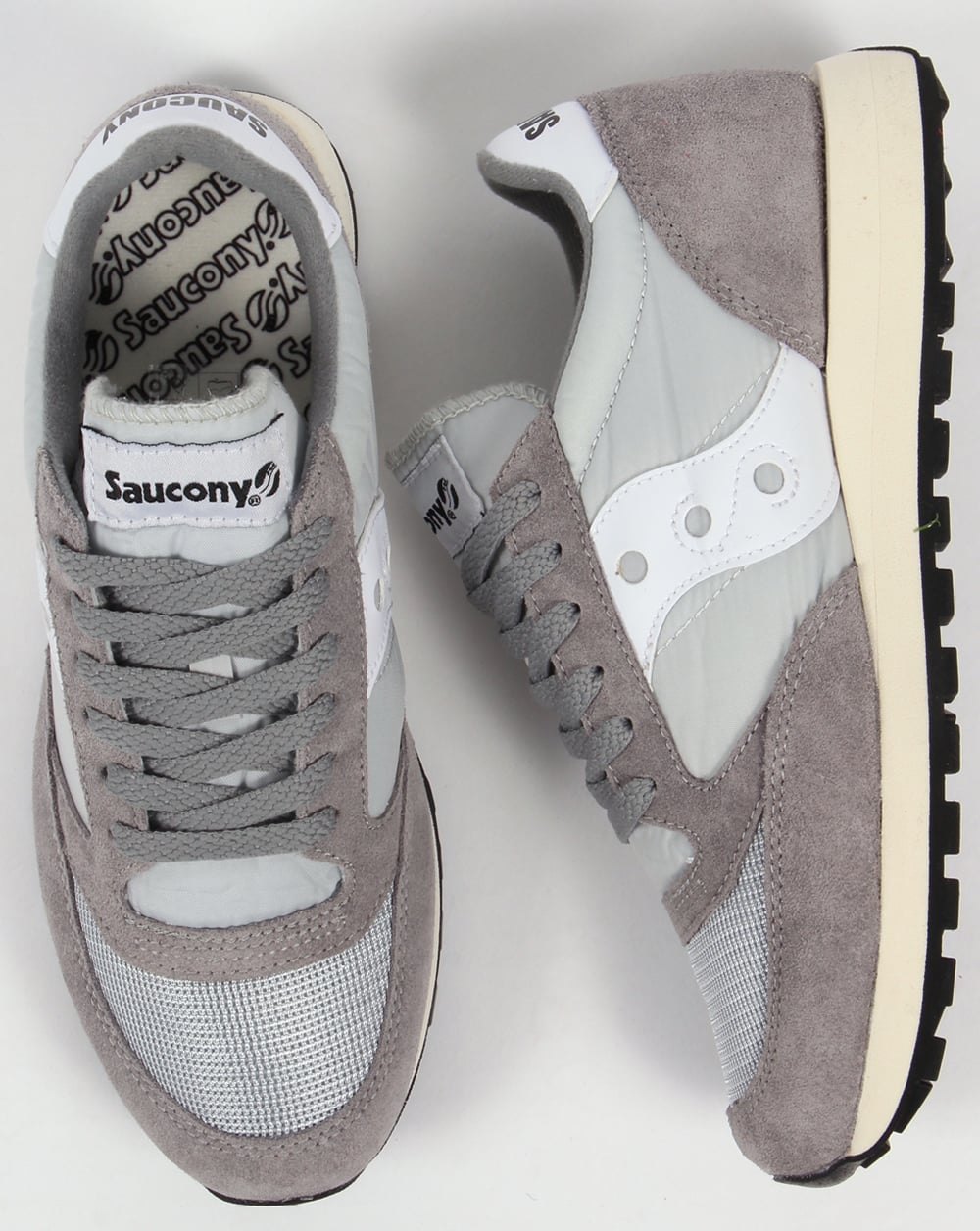 Saucony Men's Jazz Original Vintage Trainers, Grey