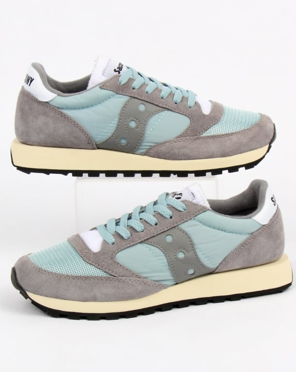Saucony Jazz Original Vintage Trainers Grey/white