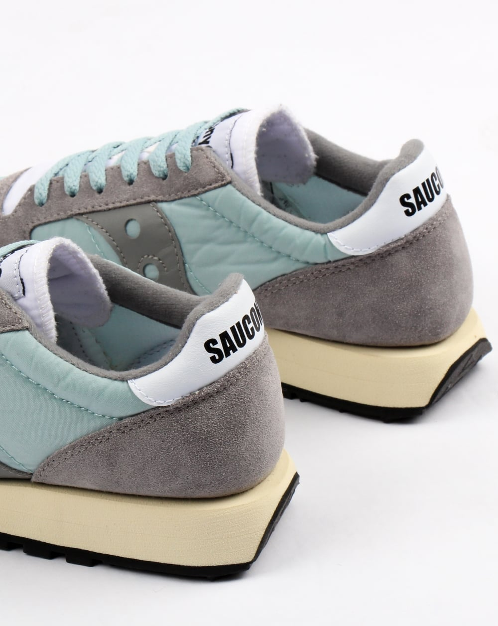 official photos aca9b 71d72 Saucony Jazz Original Vintage Trainers Grey/white