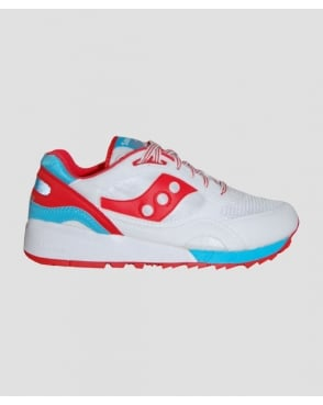 Saucony Shadow 6000 Trainers White/red