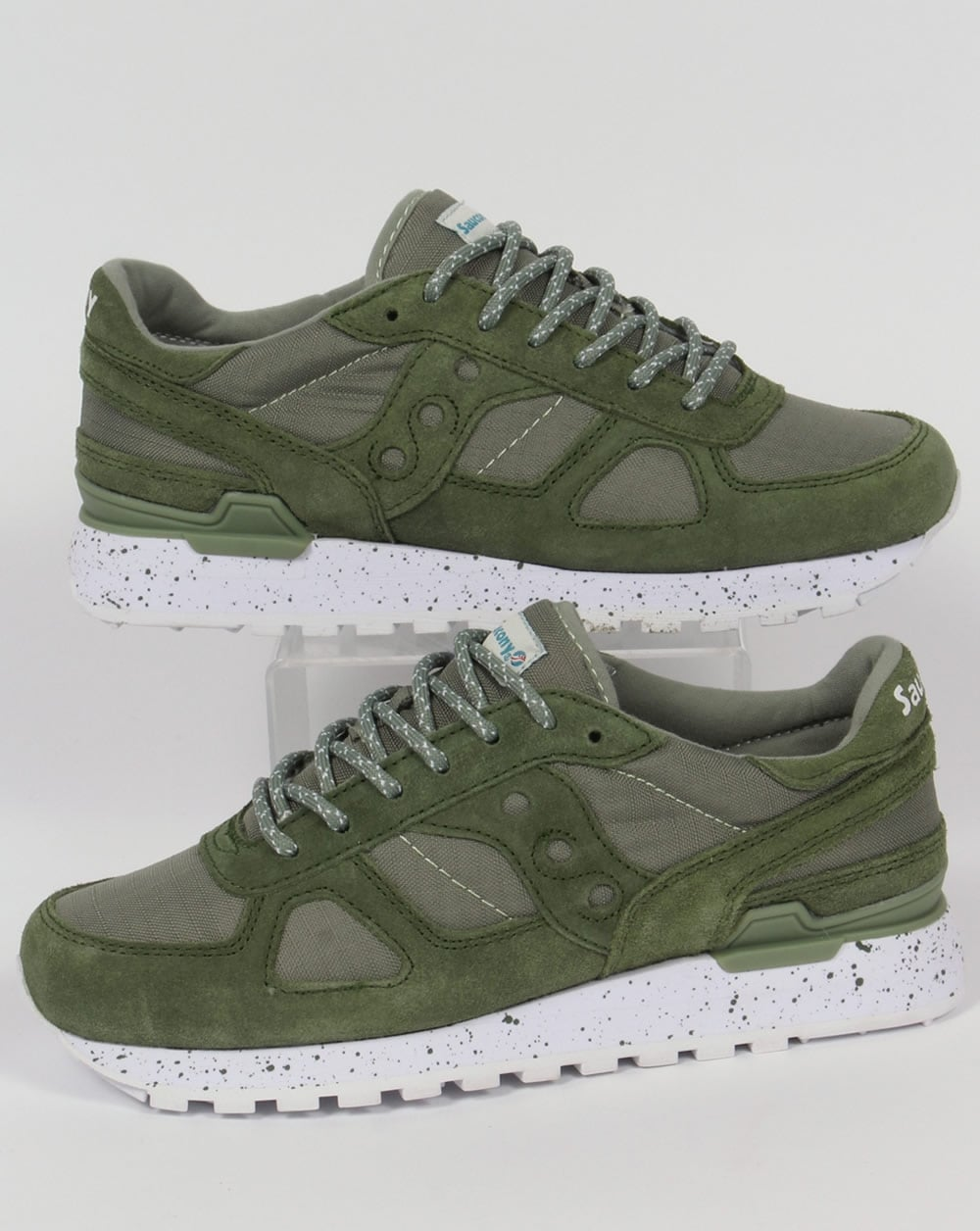 52cb8d6d33b9b Saucony Shadow Original Ripstop Trainers Green,runners,shoes,80s,mens