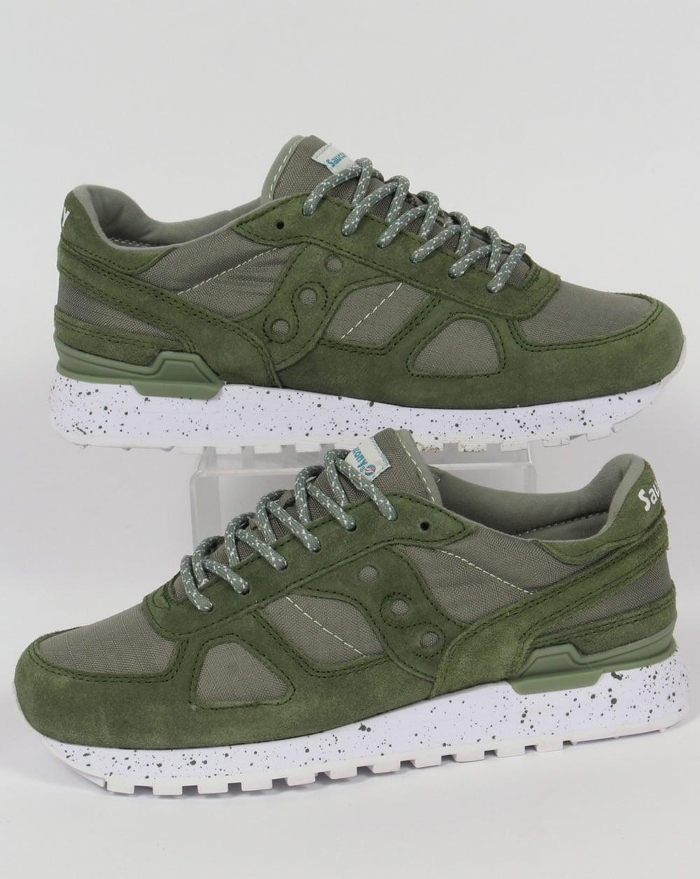 9b30f9ee1d85 Saucony Saucony Shadow Original Ripstop Trainers Green