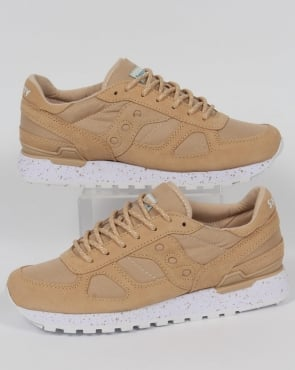 Saucony Shadow Original Ripstop Trainers Light Tan