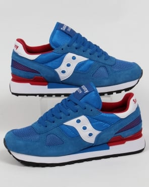 Saucony Shadow Original Trainers Blue/White