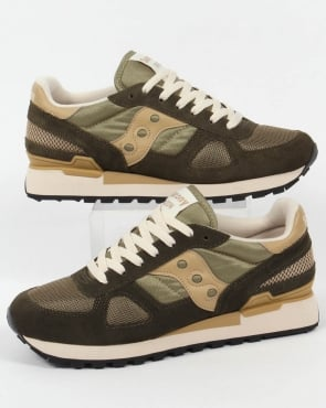 Saucony Shadow Original Trainers Green