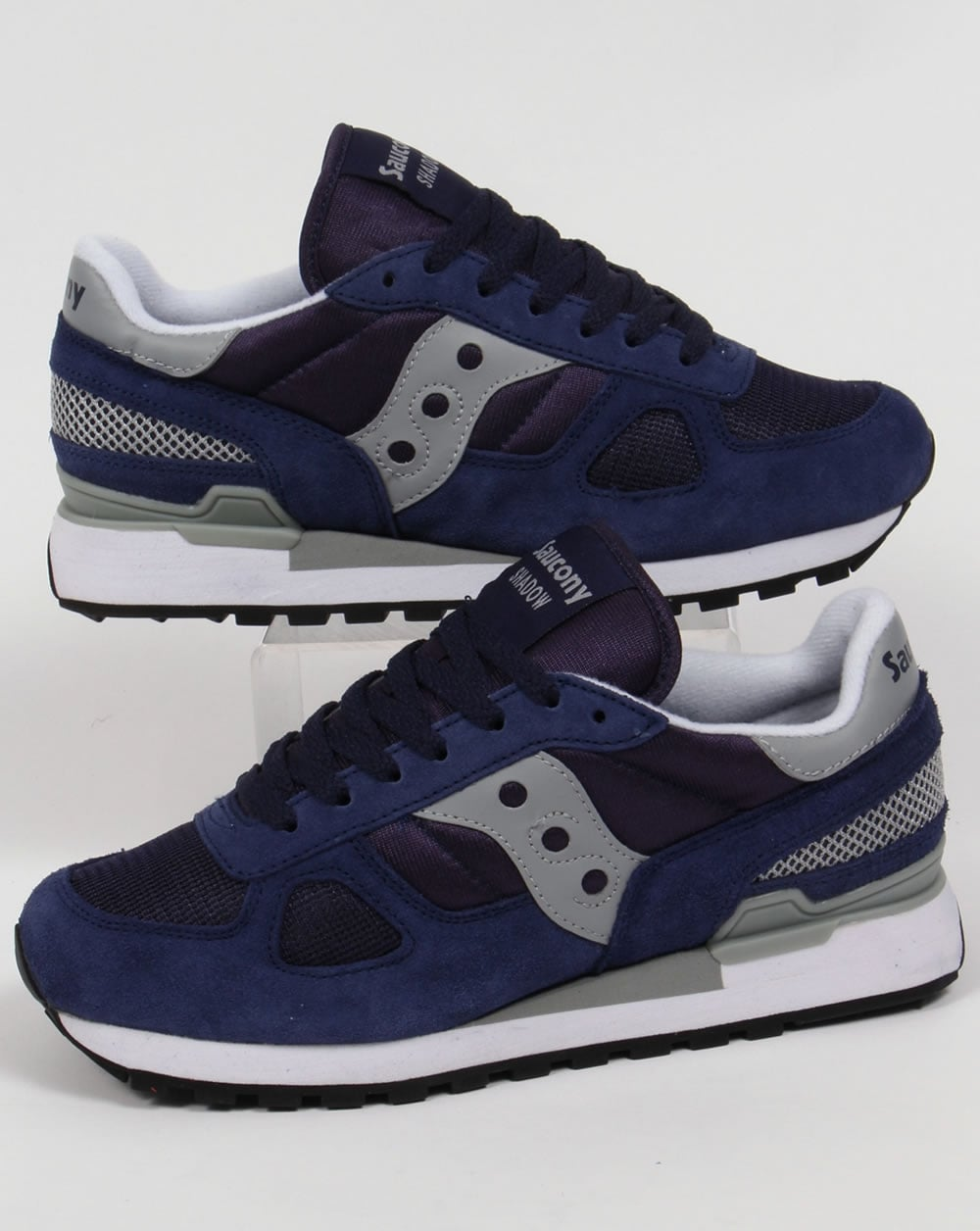 the latest 85a6d 80bf5 Saucony Shadow Original Trainers Navy/Grey