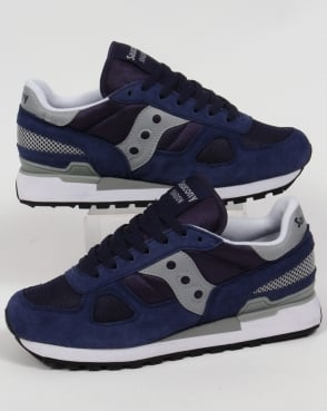 Saucony Shadow Original Trainers Navy/Grey