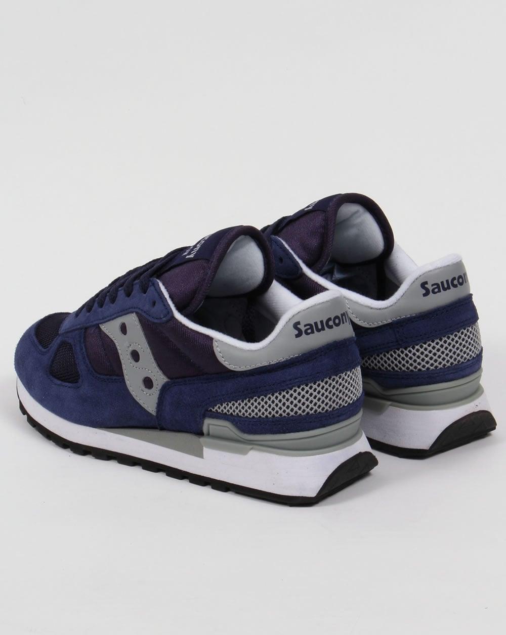 buty sportowe niskie ceny dobry Saucony Shadow Original Trainers Navy/Grey
