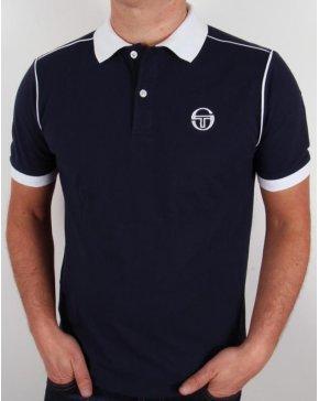 Sergio Tacchini Ace Polo Shirt Navy