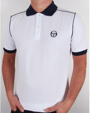 Sergio Tacchini Ace Polo Shirt White