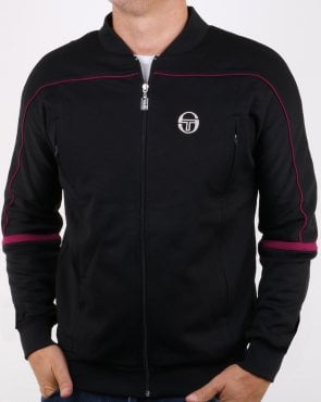 Sergio Tacchini Amiscora Track Top Black/Purple