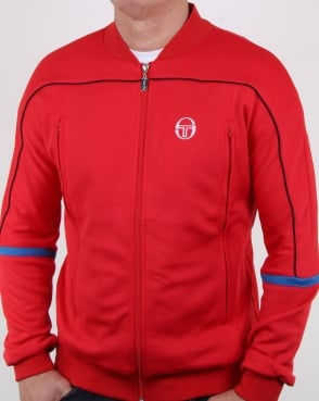 Sergio Tacchini Amiscora Track Top Red/royal