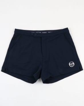 Sergio Tacchini Archivio Shorts Navy/White