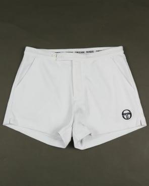 Sergio Tacchini Archivio Shorts White/Navy