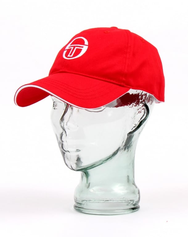Sergio Tacchini Baseball Cap Red/white
