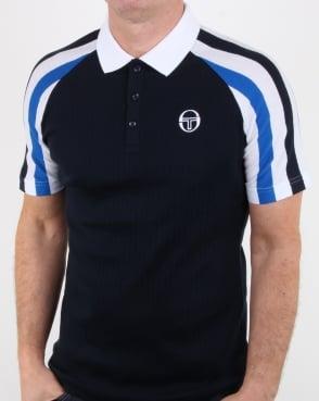Sergio Tacchini Blow Polo Shirt Navy/royal