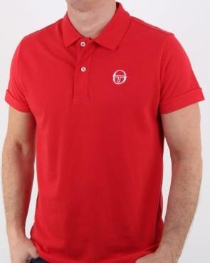 Sergio Tacchini Classic Polo Shirt Red