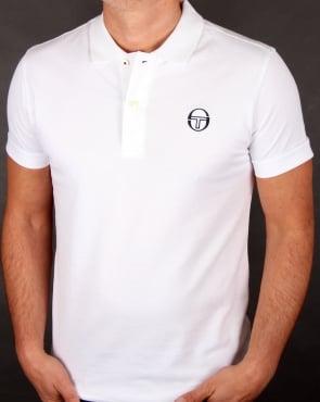 Sergio Tacchini Classic Polo Shirt White