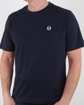 Sergio Tacchini Daiocco T Shirt Navy